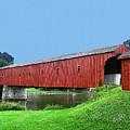 Kissing Bridge Of West Montrose by Nina Silver