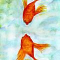 Kissy Fish by Susan Hendrich