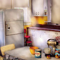 Kitchen - A 1960's Kitchen  by Mike Savad