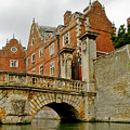 Kitchen Or Wren Bridge And St. Johns College From The Backs. Cambridge. by Elena Perelman