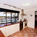 Kitchen With A River View by Darren Burton