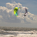 Kite Boarding Buxton Obx  by Mark Holden