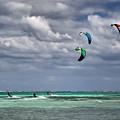 Kite Sufers Three by James Berry
