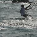 Kite Surfing 23 by Joyce StJames