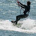Kite Surfing by Bob Zuber