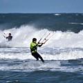 Kite Surfing by Jeramey Lende