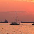 Kitsilano Sunset II by Alan W