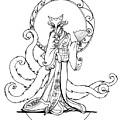 Kitsune Lady by Katherine Nutt