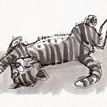 Happy Kitty by Judith Kunzle