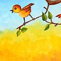 Kitten Scaring The Birds by Nirdesha Munasinghe