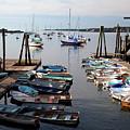 Kittery Point Fishing Boats by Thomas Habif