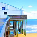 Kitty Hawk Pier 2 by Jeelan Clark