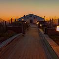 Kitty Hawk Pier Sunrise by Brenda Jacobs