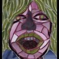 Kiwi - Fantasy Face No. 10 by Gila Rayberg
