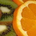 Kiwi And Orange by Martina Fagan