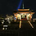 Kiyomizu-dera At Night by Brian Kamprath