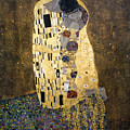 Klimt: The Kiss, 1907-08 by Granger