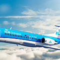 Klm F70 Cityhopper by James Weatherly