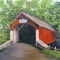 Knechts Covered Bridge by Loretta Luglio