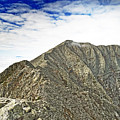 Knife Edge On Mount Katahdin Baxter State Park Maine by Brendan Reals