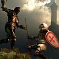 Knight Fight by Daniel Eskridge