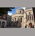 Knights Templar Church- London by Frederick Holiday