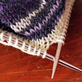 Knitting by Annee Olden