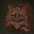 Knotty Owl by Sandy Jasper