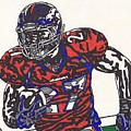 Knowshon Moreno 2 by Jeremiah Colley