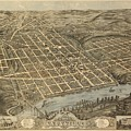 Knoxville Tennessee 1871 by Mountain Dreams