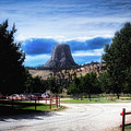 Koa Devils Tower Wyoming by Thomas Woolworth