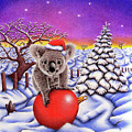 Koala On Christmas Ball by Remrov