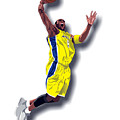 Kobe Bryant 8 by Walter Oliver Neal