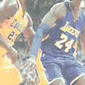 Kobe Bryant Lebron James 2 by Joe Hamilton