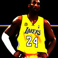 Kobe Bryant Ready For Battle by Brian Reaves