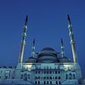 Kocatepe Cami Mosque In Ankara, Turkey by Richard Nowitz