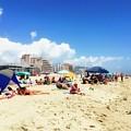 Blue Sky Day In Ocean City by Doug Swanson