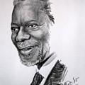 Kofi Anan by Edward Lufunda