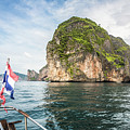 Koh Phi Phi In Thailand by Didier Marti