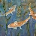 Koi by Diane Ziemski