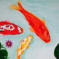 Koi Fish by Robin Lang