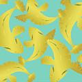 Koi Fish Sage - Lemon by Joni Warden