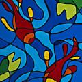 Koi Fish by Sharon Cummings