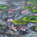 Koi Haven by Alan Scott Craig