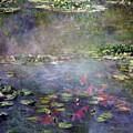 Koi N Pond by Marcus Lewis