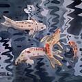 Koi Pond by Donald Maier