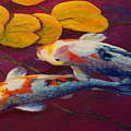 Koi Pond II by Marion Rose