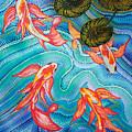 Koi Pond by Mark SWAIN