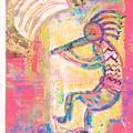 Kokopelli Sleepy Dance by Anne-Elizabeth Whiteway