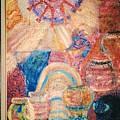 Kokopelli Zestful Spirit Dancer by Anne-Elizabeth Whiteway